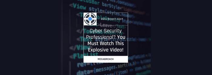 Cyber Security Professional? You Must Watch This Explosive Video!